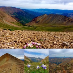 14ers Redcloud and Sunshine (13.5 miles, 5,300 feet of gain)
