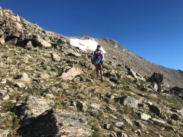 Most memorable day climbing 14ers Mount Massive and Mount Elbert (24 miles 9,100 feet of gain)